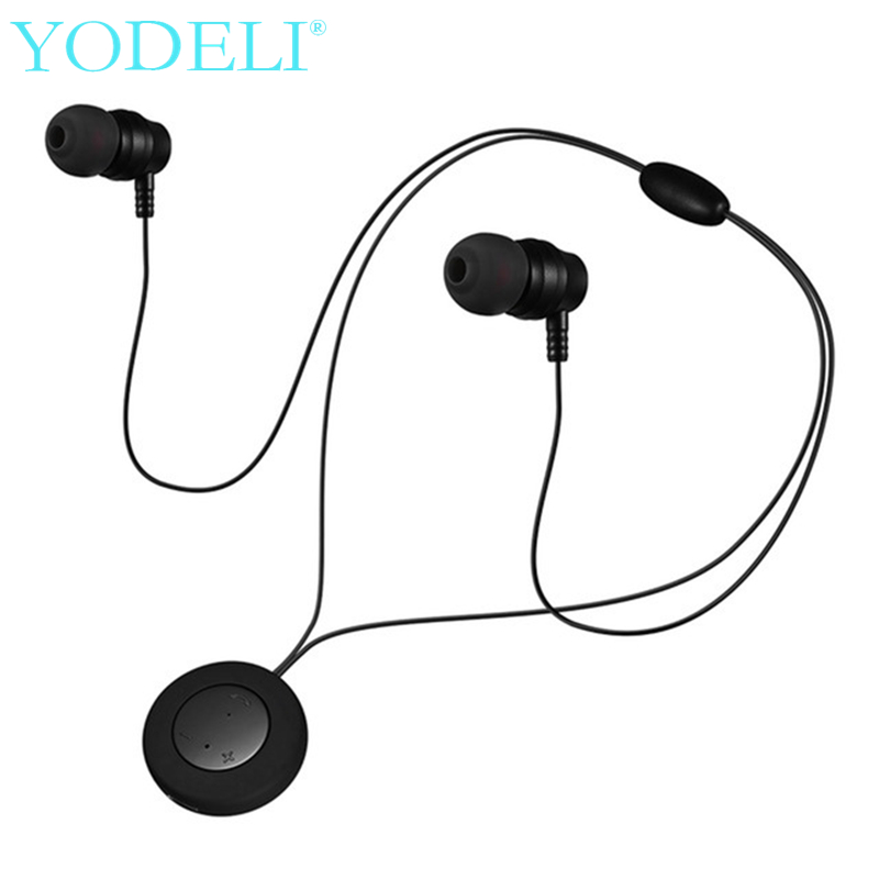 YODELI XT 8 Neckband Bluetooth Earpiece Magnetic Wireless Sport Earbuds Stereo Bluetooth Headset