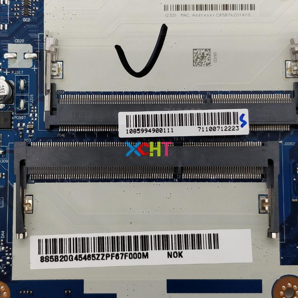 מפתחות ושלטים עבור Lenovo Z50-70 FRU: Mainboard האם 5B20G45465 ACLUA / ACLUB NM-A273 I7-4510U CPU GT840M / 4GB Graphics מחברת מחשב נייד PC (3)