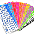 """New Silicone Multi Color Rubber Coated Keyboard Skin Cover For Macbook Pro / Air / Retina 13.3"""" inch"""