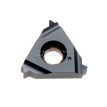 New Original Vargus Vardex 3IR 14W VTX Internal Thread Carbide Inserts 3IR 14 W VTX Cutting Blade Tool Black image