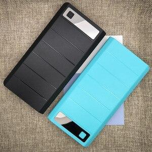 Image 5 - DIY 8x18650 чехол для внешнего аккумулятора, держатель для аккумулятора, зарядное устройство с цифровым дисплеем трубки для iPhone Samsung, два порта USB и Type C