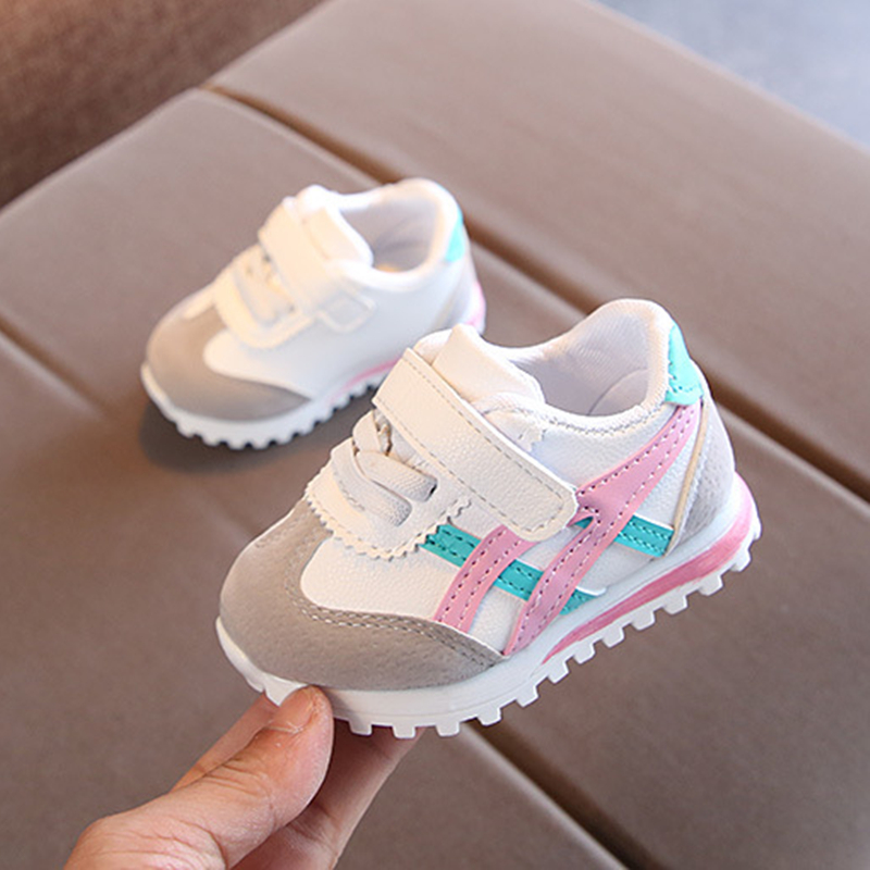 2019 Children Casual Shoes For Baby Boy Girl Soft-soled Breathable Outdoor Sport Shoes Toddler Anti-Slippery Kids Sneakers 1Pair
