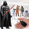 Loco Juguetes de Star Wars Darth Vader Acción PVC Figura de Colección Modelo de Juguete 8 cm 1 unid