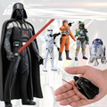 Louco Brinquedos Star Wars Darth Vader PVC Action Figure Collectible Modelo Toy 8 cm 1 pc
