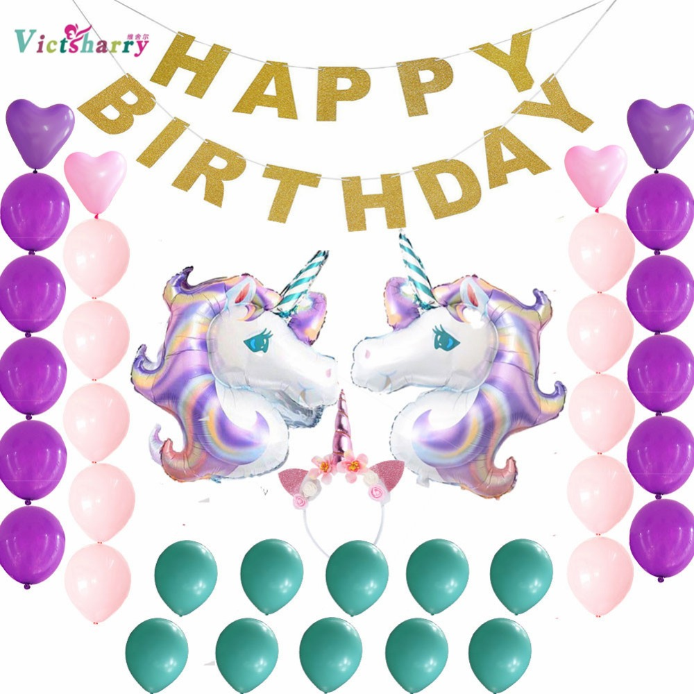 Thema Feestartikelen Verjaardag Decoraties Set Happy Birthday Banner