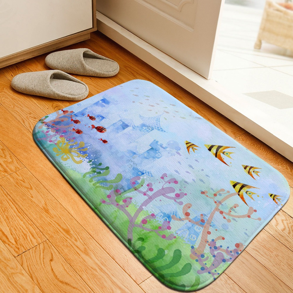Aliexpress.com : Buy Ocean Fish Car Carpet Floor Rug Home