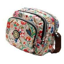 В Корейском стиле модные женские туфли сумка женская Водонепроницаемый нейлоновая сумка Высокое качество Женские Курьерские сумки Многослойные Кроссбоди Мешок