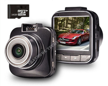 G50 Novatek 96650 H.264 Full HD 1080 P Mini Coche DVR de Vídeo grabadora de 2.0 Pulgadas LCD de 170 grados Dash Cam 4X y 16 GB TFCard Envío Gratis!