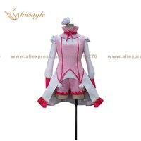 Kisstyle Fashion Ixion Saga DT Ecarlate Juptris Saint Piria Uniform COS Clothing Cosplay Costume Customized Accepted