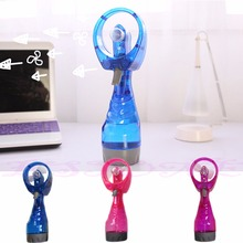 1PC Portable Mini Hand Held Spray Cooling Fan Water Mist Sport Travel Beach Camp