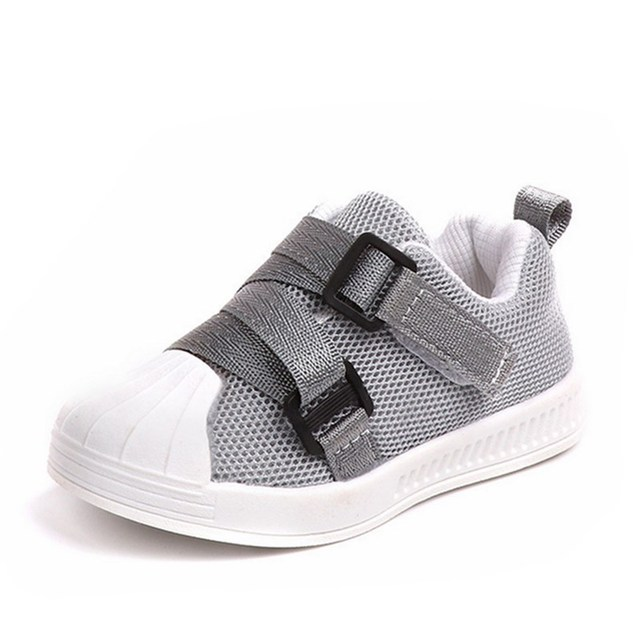 חם 2019 אביב/סתיו ילדים של נעלי בני בנות נעליים יומיומיות אופנה נוח לנשימה נגד החלקה לילדים