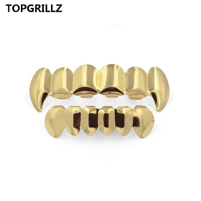 TOPGRILLZ Pure Gold Color...