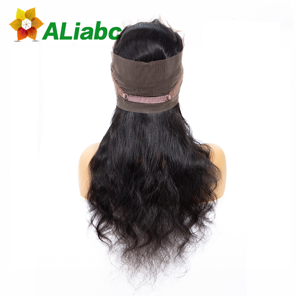 Aliabc Brazilian Body Wave Lace Closure 1 Pcs Natural Color 8-20 Inch 100% Human Hair