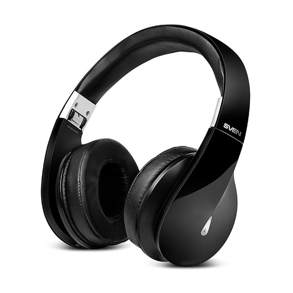 Купить со скидкой Беспроводные наушники с микрофоном SVEN AP-B570MV, черный (Bluetooth)
