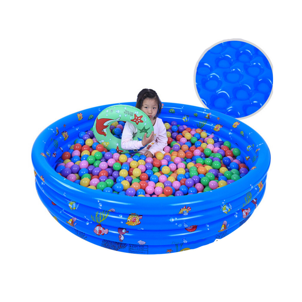 PVC Baby Kids Swimming Pool Fluorescent Trinuclear Inflatable Pool Baby Swimming Pool Piscina Portable Outdoor Children Basin