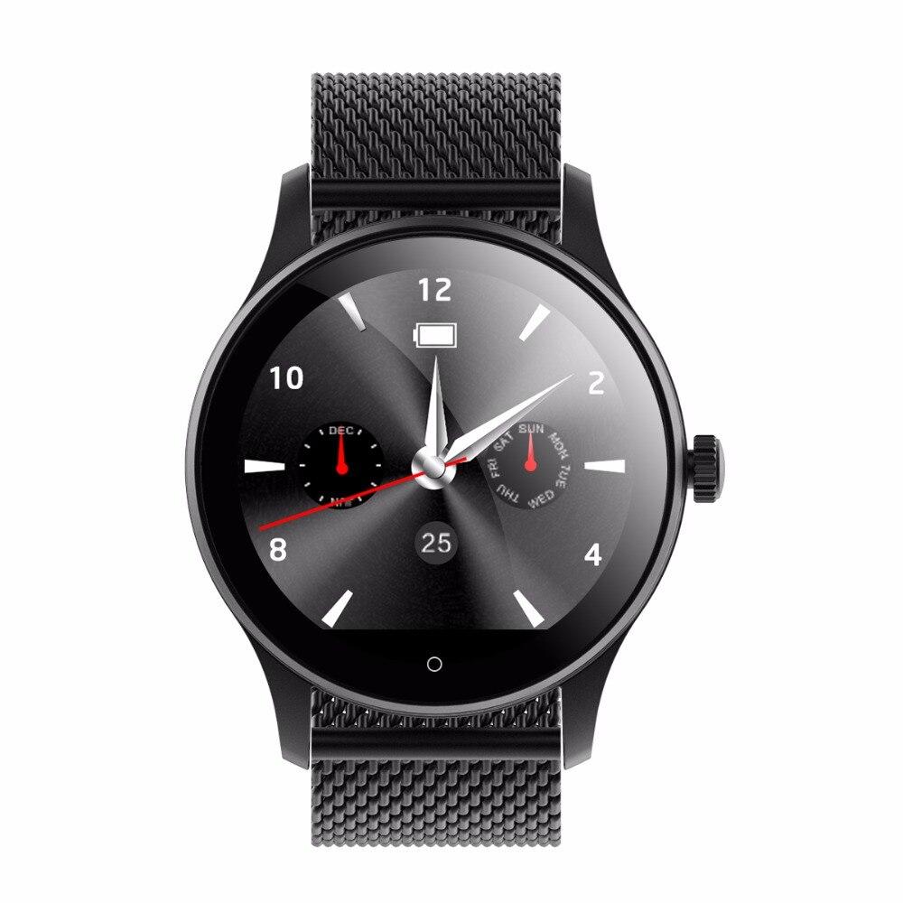 Nuevo Diggro K88H reloj inteligente HD pantalla Monitor de ritmo cardíaco podómetro Fitness Tracker hombres reloj conectado para Android IPhone
