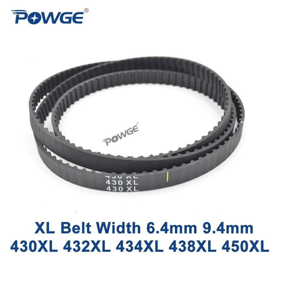 POWGE XL Timing belt 430/432/434/438/450 Width 025 037 Teeth 215 216 217 219 225 Synchronous Belt 430XL 432XL 434XL 438XL 450XL direct heating 216 0732019 216 0732025 216 0732026 215 0669065 215 0669045 215 0669049 stencil