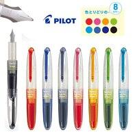 Japan S Genuine Tupper PILOT Qi Pen Transparent Mini Pen Pen Color In SPN 20F 8