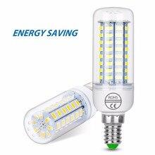 цена на WENNI GU10 LED Lamp 220V E14 Light Bulb 5730SMD Bombilla LED E27 Corn Bulb 24 36 48 56 69 LEDs Candle Light Chandelier Lighting