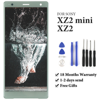 TIMEWAY For Sony Xperia XZ2 H8216 H8266 H8276 XZ2 Compact XZ2 Mini LCD Display With Frame Touch Screen AAA display