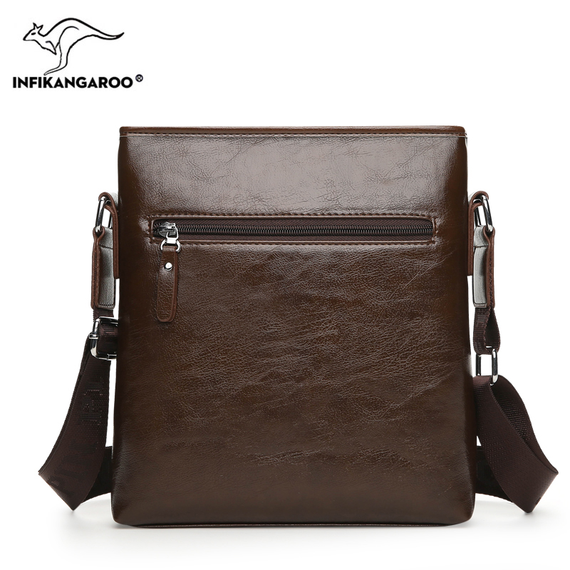 39bdd6ef94 2018 Business OL Men Satchels Messenger Bags Travel High Quality Male  Shoulder Bag Fashion Vintage Men s Soft Crossbody Bag