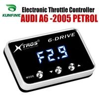 Auto Elektronische Drossel Controller Racing Gaspedal Potent Booster Für AUDI A6 2005 Nach Vorne BENZIN Tuning Teile Zubehör|Auto-elektronische Drossel-Controller|   -