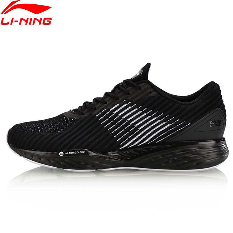 Li-Ning Men LN CLOUD Cushion Running Shoes Breathable Sneakers Support Fitness Stability LiNing Sports Shoes ARHN009 XYP636 li ning men s smart running shoes furious rider tuff os stability sneakers probarloc lining sports shoes arhl043 xyp424