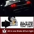 Para kia/rio/sportage/ceed/sorento/k2/cerato/soul/optima/LED bulbo Reversa Backup Cauda Pausa Parar Turn Signal luz Dupla função
