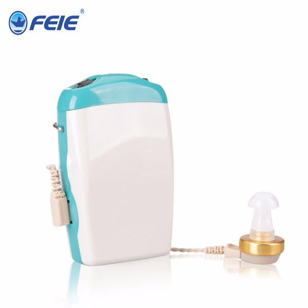 S-18 (1) Medium Power Suitable for Moderate to sever Hearing Week People Pocket Hearing Aid S-18