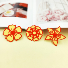 DUOFEN 2019 New Flower metal Cutting Dies Stencils for DIY Scrapbooking stamping Die Cuts Paper Cards craft dies in cutting