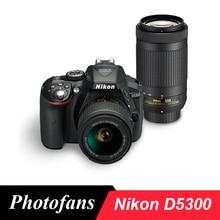 Nikon  D5300 DSLR Camera Dual Lens Kit with Nikon AF-P 18-55mm Lens and Nikon AF-P 70-300mm Lens