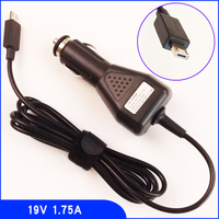 19V 1 75A Laptop DC Car Power Adapter Charger For ASUS Transformer Book Flip TP200 TP200SA