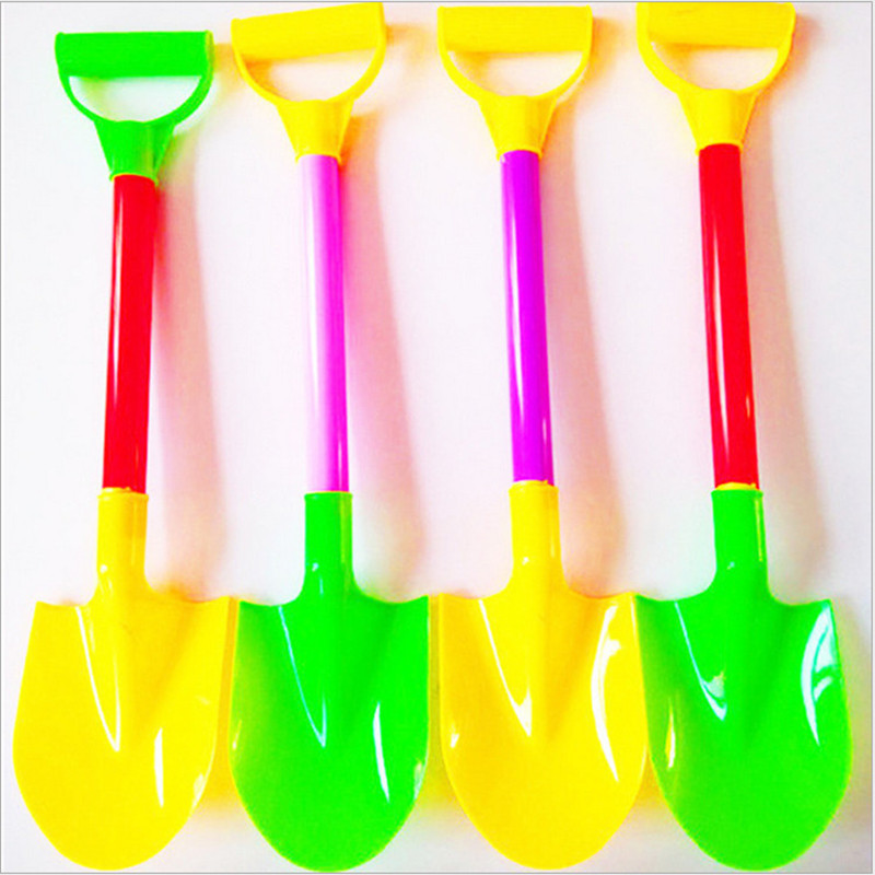 Beach Toys Large Beach Shovel Play Sand Shovel Snow Tools Kids Summer Holiday Dig Sand Shovel Soil Water Toys