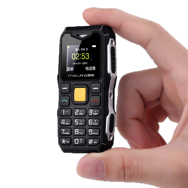 Melrose S10 Russian Keyboard Big Voice Bar Simple Mini Cell Phone LED Flashlight FM MP3 Bluetooth Dialer Olders phone