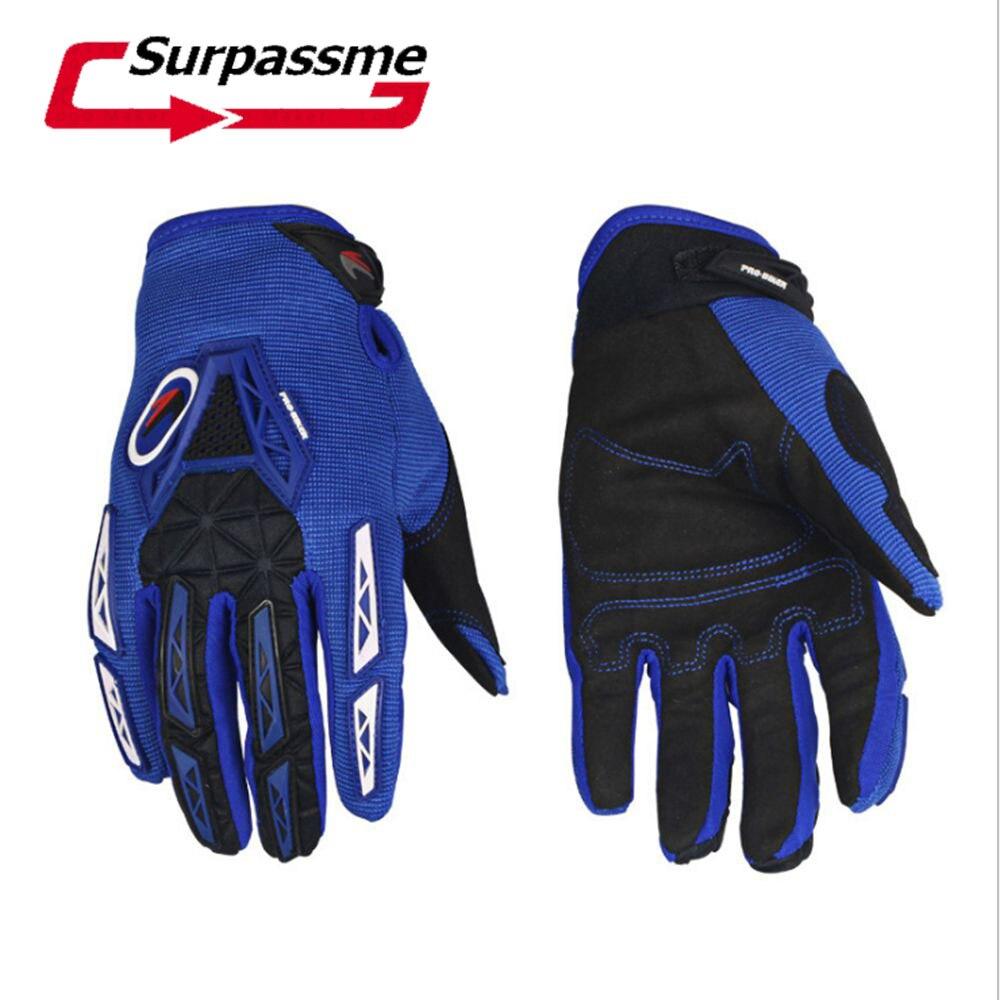 Мотоцикл перчатки для страйкбола Пейнтбол езда Гонки Тактический Защитные перчатки Экипировка велосипедные перчатки для мотокросса с 3 цвета