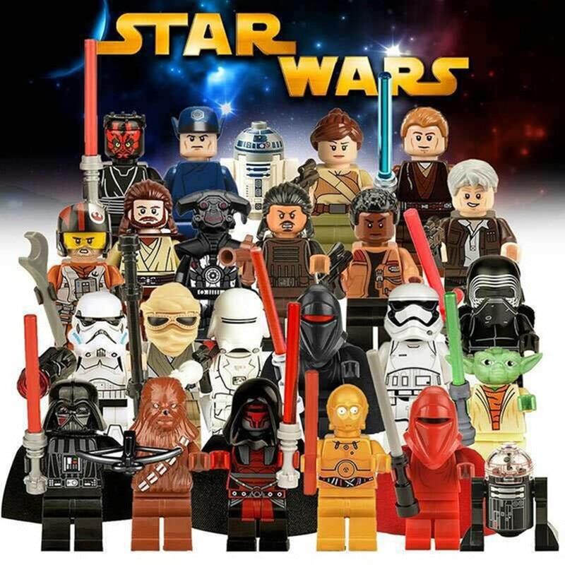 [Jkela] 1PC Star Wars Kallus R5D4 Robot Count Dooku Darth Vader Darth Maul Building Blocks Toy Compatible Legoingly starwars