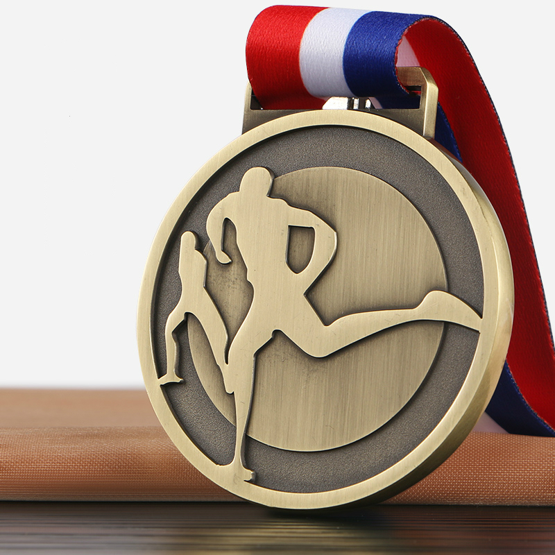 Exquisite Marathon Medal Sports Meeting Run Match Medal Sports Souvenirs Wholesale Running Competition Winner Medal Holder Gift