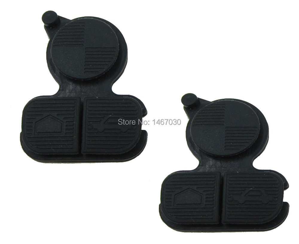 2pcs 3 Buttons Remote Fob Key Buttons Repair Pad For BMW Series 3 5 7 E38 E39 E36 Z3 Z4 Z8 X3 X5 цены