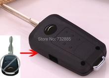 Новый Режиссерский Лезвие Ключ Чехол Для Hyundai Accent 1 Кнопки Изменение Складной Флип Дистанционный Ключ Оболочки