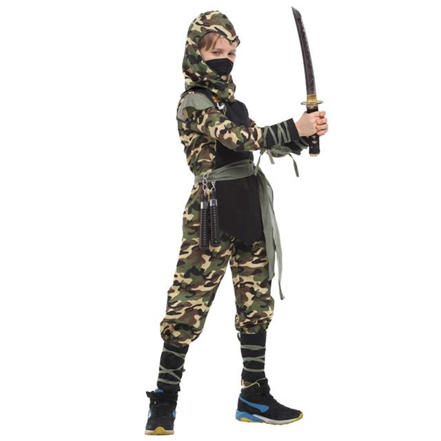 Classic Halloween Kostuums Cosplay Kostuum ninja Kostuums voor kinderen Fancy Party decoraties levert kinderen geschenken