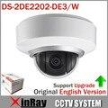 Alta qualidade de IP wi fi PTZ câmera Dome DS-2DE2202-DE3 / W 2X Zoom EZVIZ de microfone e áudio versão completa inglês