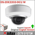 High-Quality Original IP Auto PTZ WIFI Dome Camera DS-2DE2202-DE3/W 2X Zoom EZVIZ Built In Mic and Audio Full English Version