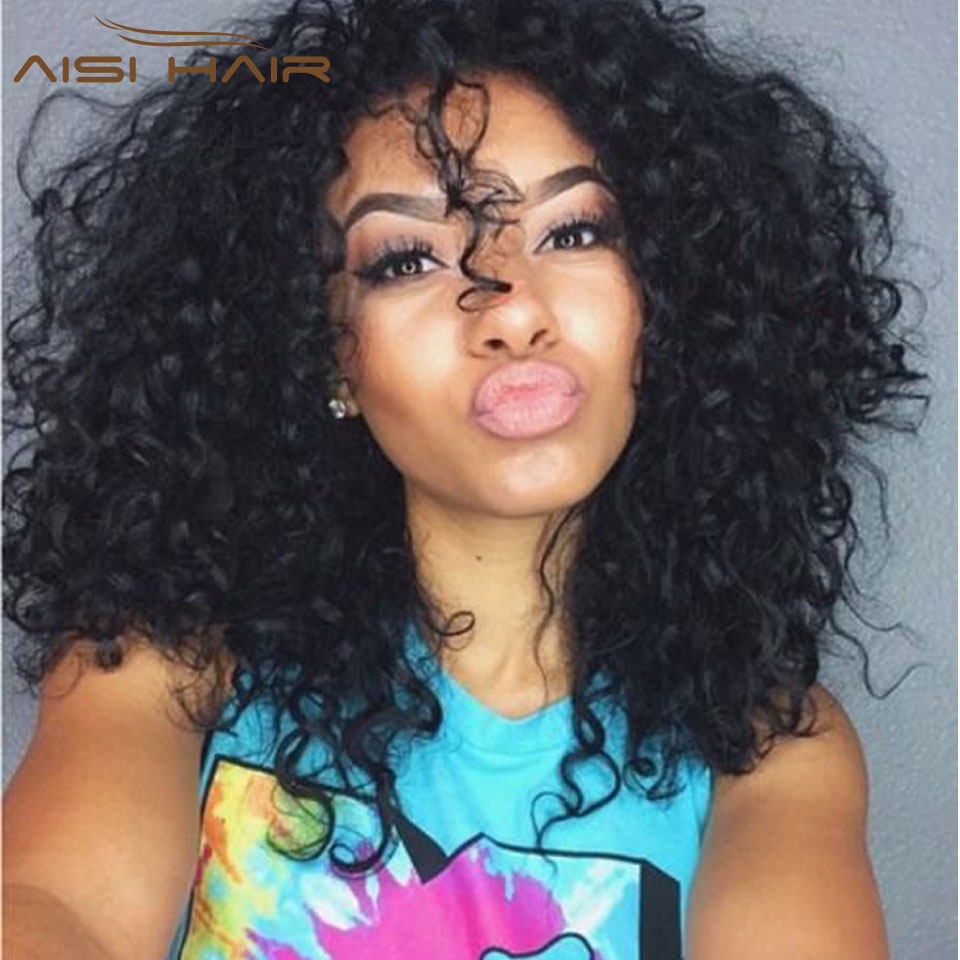 Peruvian Virgin Hair 3 Bundles Cheveux Human Kinky Curly