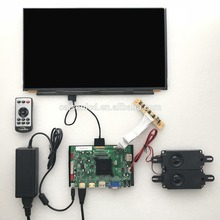 2 HDMI + VGA + DP + Áudio 4 K suporte placa controladora LCD 15.6 polegada lcd kits com 3840*2160
