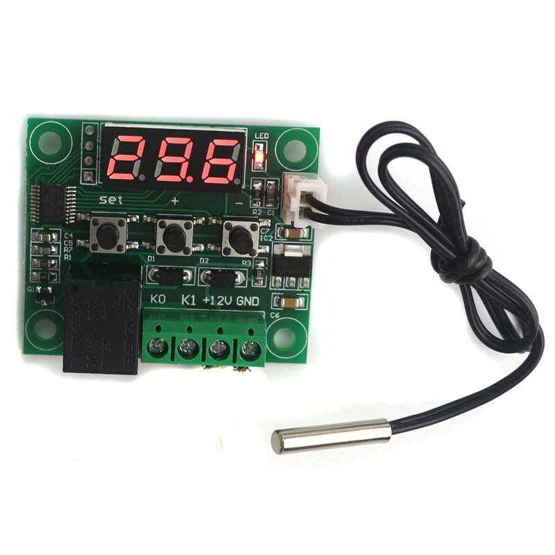 Digital Thermostat Regulator -<font><b>50</b></font>~<font><b>110C</b></font> Temperature Controller Switch Temp. Control Switch Plate Termostato Free Shipping image