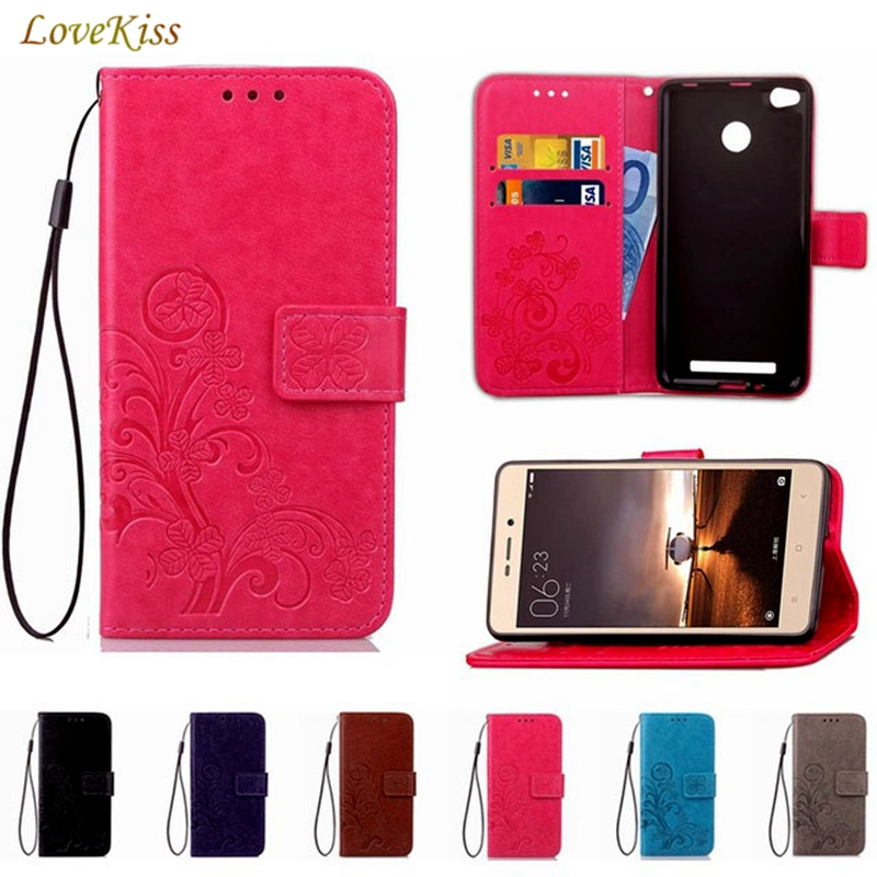 Leather Case Wallet Cover For Xiaomi Mi 5X A1 A2
