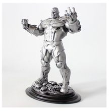 14Inches Resin Type Statue Thanos Art Craft Action Figure Collectible Model Decoration Toy BOX D223(China)
