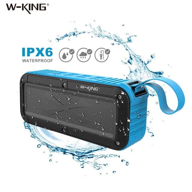 W-король Колонки Портативный Водонепроницаемый Bluetooth Динамик душ мини Беспроводной Водонепроницаемый Bluetooth Динамик fm Радио для Iphone