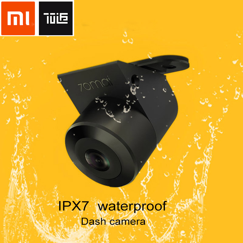 Xiaomi 70 Mai Car Rear View Camera 138 Degree 720 P Night Vision IPX7 Reversing Double Recording for Vehicle Parking Reverse