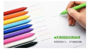 Image 3 - Ручка xiaomi mijia KACO pure 0,5 мм, 10 цветов, 20 цветов, гелевая ручка, мягкая сенсорная Подарочная коробка, цветные ручки